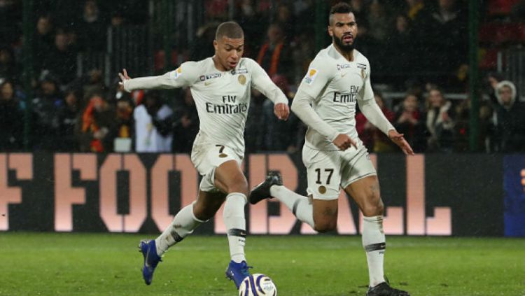 Kylian Mbappe dan Choupo Moting Copyright: © Xavier Laine / Contributor / Getty Images