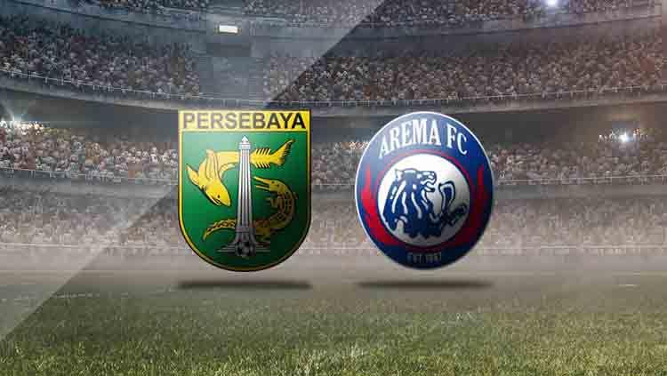Logo Persebaya Surabaya vs Arema FC. Copyright: © INDOSPORT