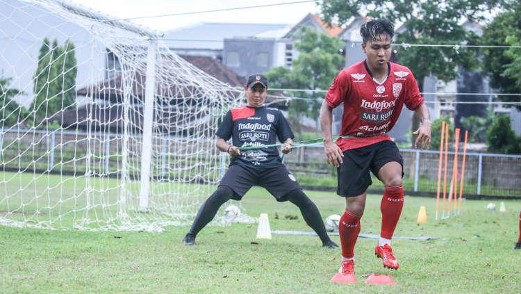Winger Bali United, Fahmi Al Ayyubi menyambut gembira bergabungnya Diego Assis Figueiredo. Copyright: © baliutd.com