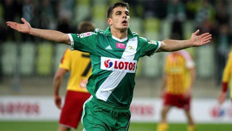 Eks striker Timnas Polandia U-21, Piotr Grzelczak. Foto: superelja/gol24 Copyright: © superelja/gol24