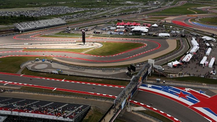 Circuit of The America, venue MotoGP Amerika Serikat. Copyright: © THOMAS B. SHEA/AFP/Getty Images