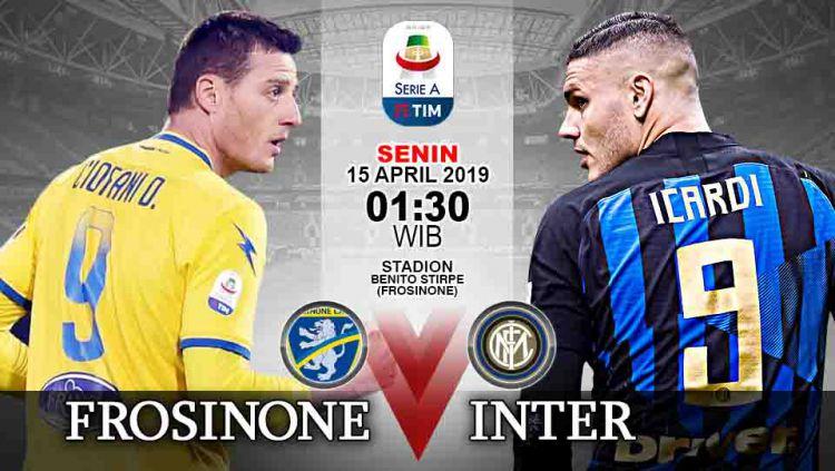 Prediksi Pertandingan Serie A Italia 2018 19 Frosinone Vs Inter Milan Indosport