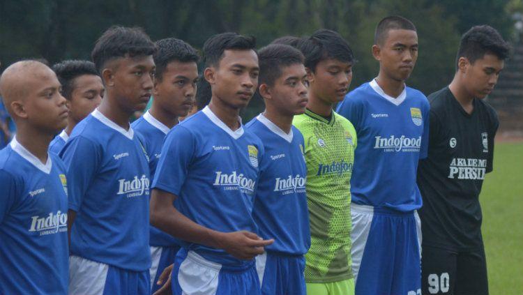 Skuat Persib Bandung U-16. Copyright: © Gregorius Aditya Katuk/Persib.co.id