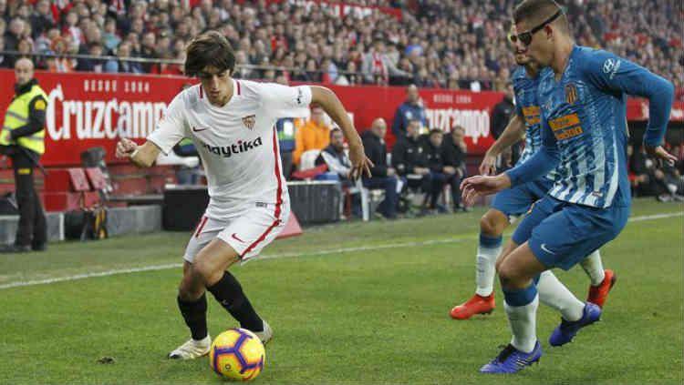 Aksi Bryan Gil saat bersama Sevilla Copyright: © Marca