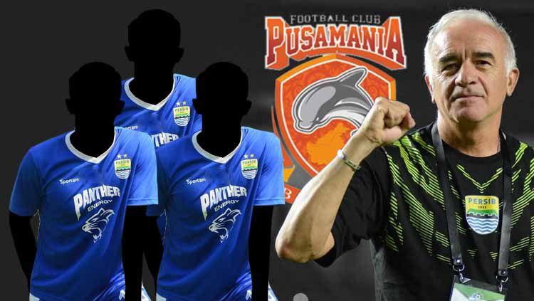 Tiga pemain Persib Bandung yang bisa dibawa Mario Gomez ke Borneo FC Copyright: © febrihariyadi13/mariogomezdt Verified/Eli Suhaeli/INDOSPORT