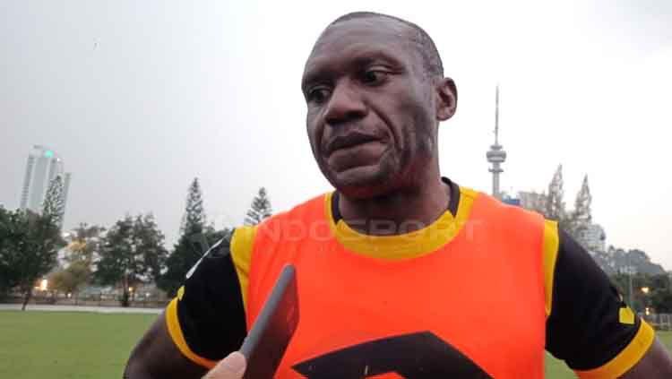 Herman Dzumafo, eks striker Bhayangkara FC Copyright: © Shintya Anya Maharani/INDOSPORT