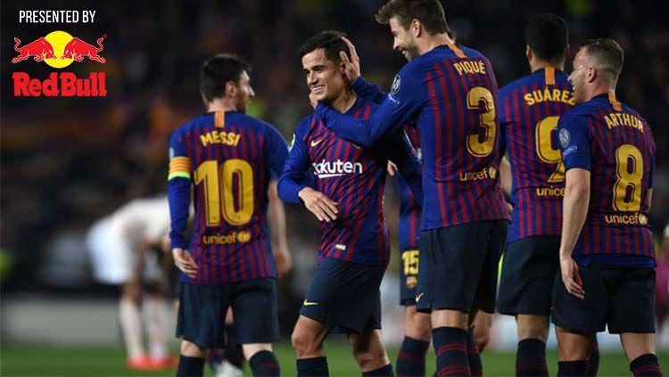 Barcelona vs Man United: 5 Pemain yg Menjadi Kunci Kemenangan Blaugrana. Copyright: © Etsuo Hara/Getty Images