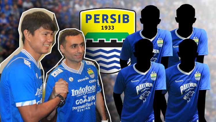 Jupe dan Artur datang, empat pemain ini kian dekat dengan pintu keluar Persib Bandung Copyright: © Arif Rahman/Eli Suhaeli/INDOSPORT
