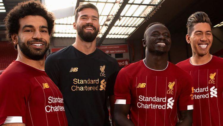 Jersey Baru Liverpool untuk Musim 2019/20 Copyright: © instagram.com/liverpoolfc/