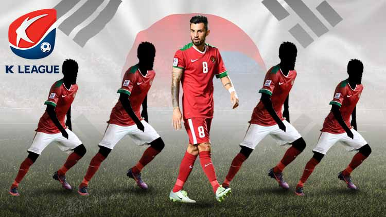 Lima pemain senior Indonesia yang bisa hijrah ke Liga Korea Selatan, di antaranya Stefano Lilipaly. Copyright: © bumi21.xyz/Eli Suhaeli/INDOSPORT