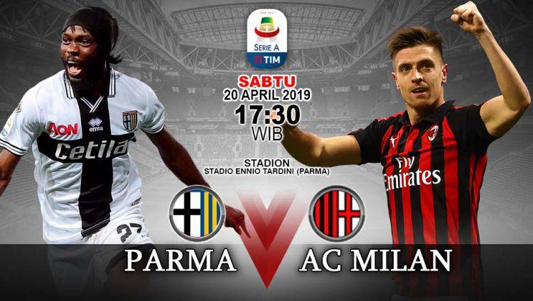 Prediksi pertandingan Parma vs Ac Milan. Copyright: © INDOSPORT/Yooan Rizky Syahputra