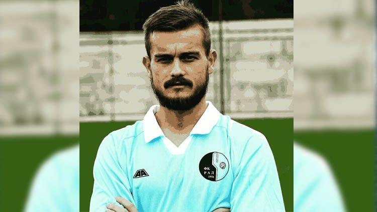 Srdan Ajkovic salah satu pemain asing yang akan didatangi oleh persib. Copyright: © Instagram
