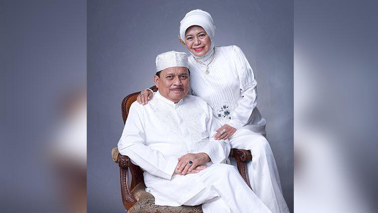 Abdussamad Sulaiman HB dan istrinya Nurhayati Copyright: © hasnur_baritoputera