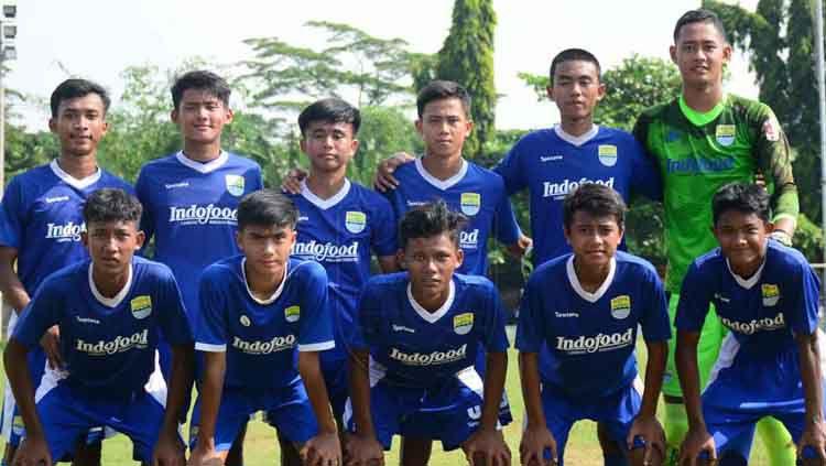 Skuat Persib Bandung U-16. Copyright: © PERSIB.co.id/Pandu Persada