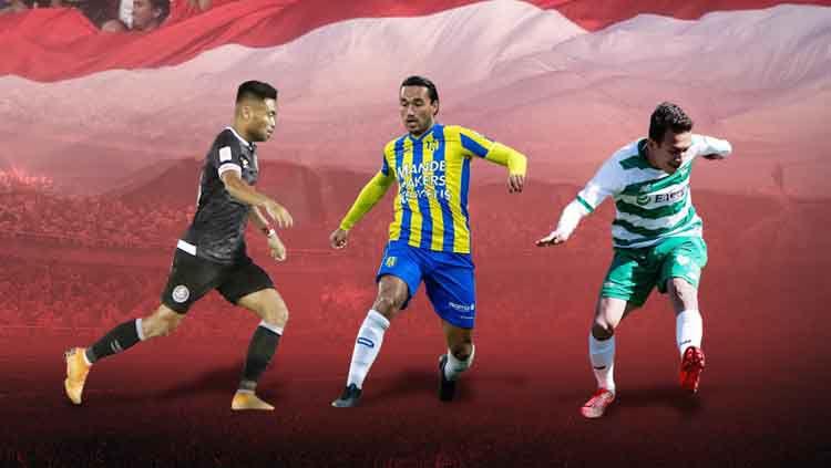 Saddil Ramdani, Ezra Walian, dan Egy Maulana Vikri pemain Indonesia yang bermain di luar negeri Copyright: © Eli Suhaeli/INDOSPORT