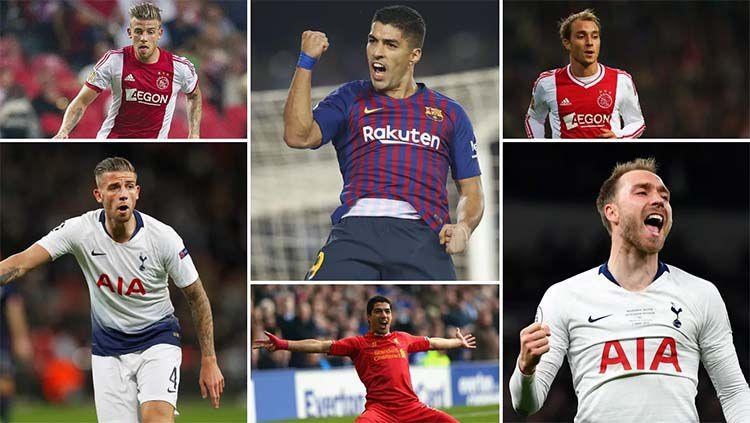6 Pemain yang akan bertemu sang mantan di semifinal Liga Champions. Foto: foxsportasia.com Copyright: © foxsportasia.com