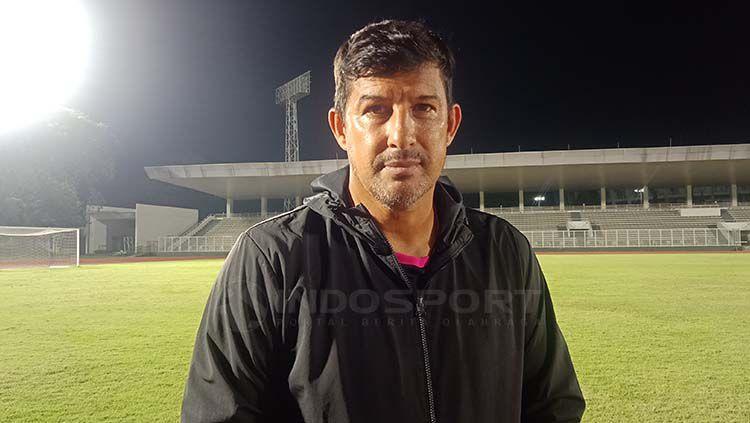 Angel Alfredo Vera,  Pelatih Bhayangkara FC Copyright: © Shintya Anya Maharani/INDOSPORT