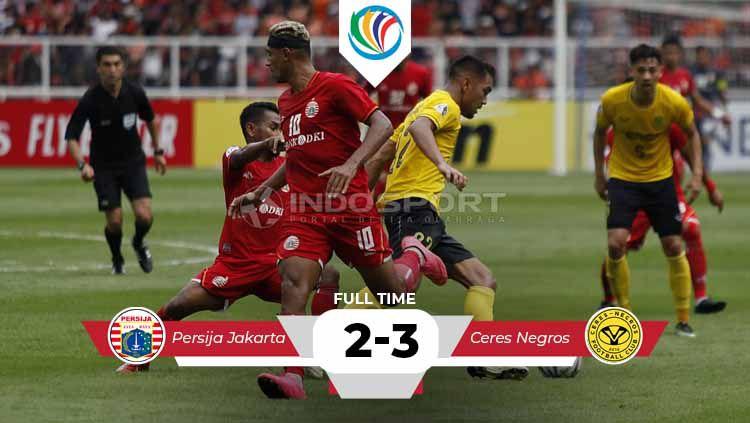 Hasil pertandingan Persija Jakarta vs Cers Negros. Copyright: © Herry Ibrahim/INDOSPORT