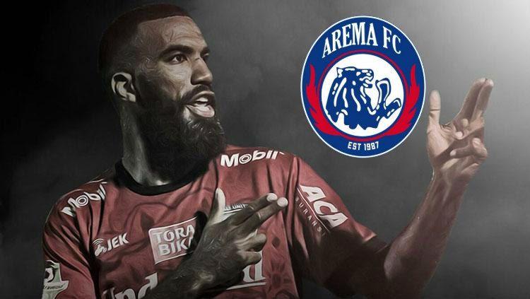 Menurut laporan beberapa situs, Sylvano Comvalius dikabarkan telah resmi ke Arema FC. Copyright: © INDOSPORT