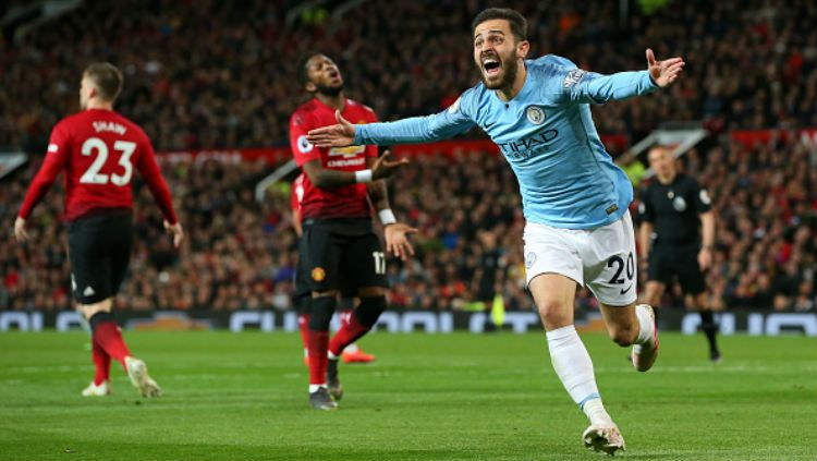 Manchester United kalah dari Manchester City Copyright: © Alex Livesey - Danehouse/Getty Images