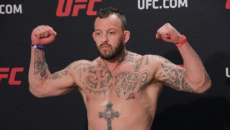 Di balik keganasannya sebagai petarung MMA, Mark Godbeer berhati lembut. Copyright: © Mike Sloan/Sherdog.com