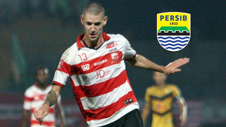 Dane Milovanovic berpeluang ke Persib? Copyright: © INDOSPORT/Ian Setiawan