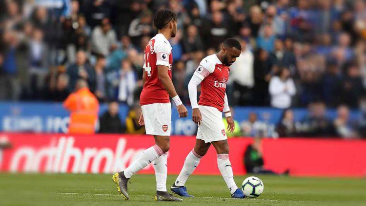 Arsenal memiliki beberapa syarat yang wajib dipenuhi untuk menduduki posisi empat besar di akhir musim Liga Primer Inggris 2018/19. Copyright: © James Williamson - AMA/Getty Images