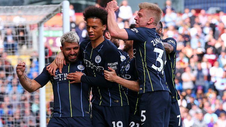 Manchester City akan melawan West Ham United di semifinal Premier League Asia 2019. Copyright: © Robbie Jay Barratt - AMA / Contributor