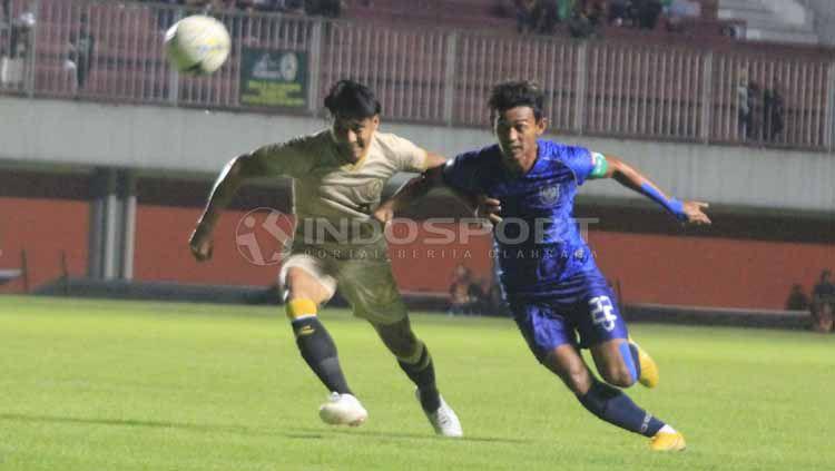 Situasi pertandingan PSS Sleman vs PSIS Semarang. Ronald Seger Prabowo/INDOSPORT Copyright: © Ronald Seger Prabowo/INDOSPORT