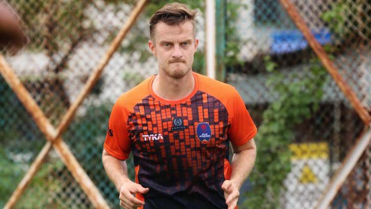 Rene Mihelic 'belum menganggap' Persib Bandung sebagai klubnya. Copyright: © Sports India Show
