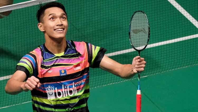 Media China ungkap fakta mengejutkan tentang atlet bulutangkis Indonesia, Jonathan Christie, jelang BWF World Tour Finals 2019. Copyright: © Stanley Chou/Getty Images