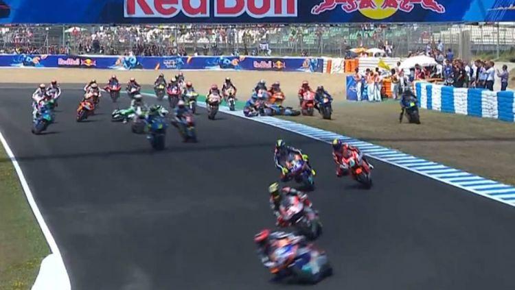 Kecelakaan Parah di Moto2 Copyright: © Fox Sports Asia