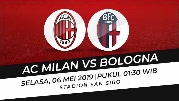 AC Milan vs Bologna Copyright: © Eli Suhaeli/INDOSPORT