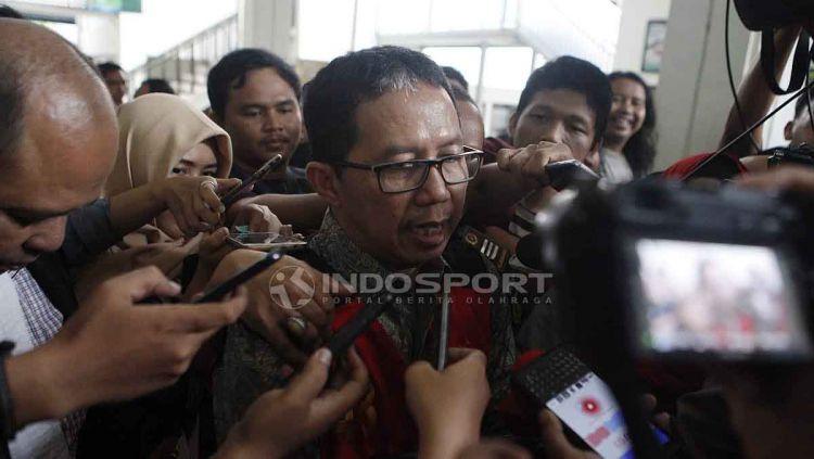 Mantan plt ketua umum PSSI, Joko Driyono dilaporkan akan segera bebas bersyarat dalam waktu dekat. Copyright: © Herry Ibrahim/INDOSPORT