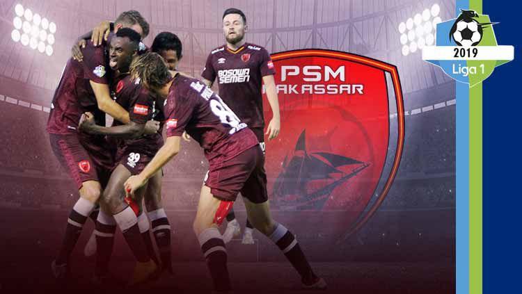 Profil Tim PSM Makassar Liga 1 2019. Grafis: Tim/Indosport.com Copyright: © Grafis: Tim/Indosport.com