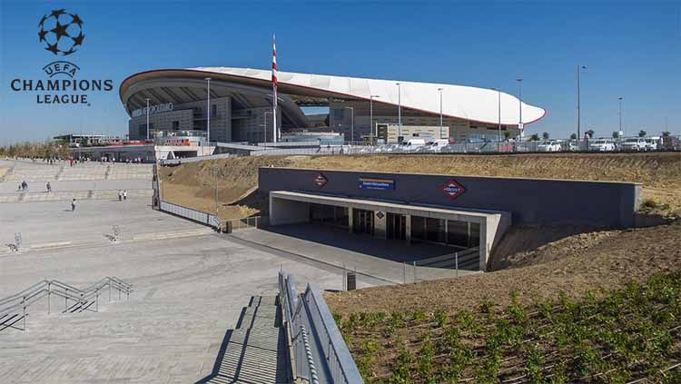 Wanda Metropolitano (Estadio Metropolitano). Foto: stadiumdb.com Copyright: © stadiumdb.com