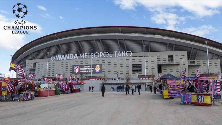 Wanda Metropolitano (Estadio Metropolitano) merupakan perhelatan final Liga Champions 2018/19 yang akan mempertemukan Tottenham Hotspur vs Liverpool. Foto: stadiumdb.com Copyright: © stadiumdb.com