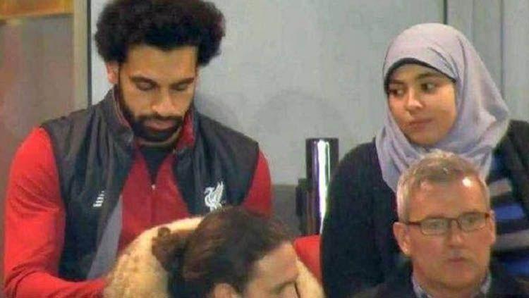 Mohamed Salah dan istrinya Magi Salah Copyright: © thefamouspeople