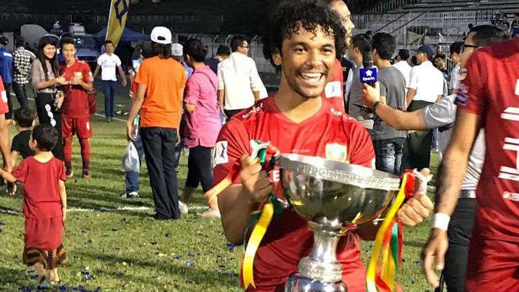 Bhayangkara FC akan merekrut Hedipo Conceiçao dari Kalteng Putra. Copyright: © instagram.com/Hedipogustavo70/
