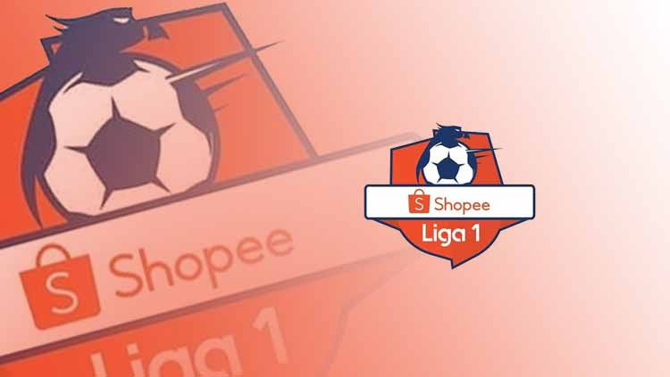 Logo Resmi Shopee Liga 1 2019. Foto: ShopeeLiga1 Copyright: © ShopeeLiga1