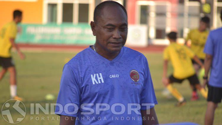 Kas Hartadi, pelatih Sriwijaya FC Copyright: © Muhammad Effendi/INDOSPORT
