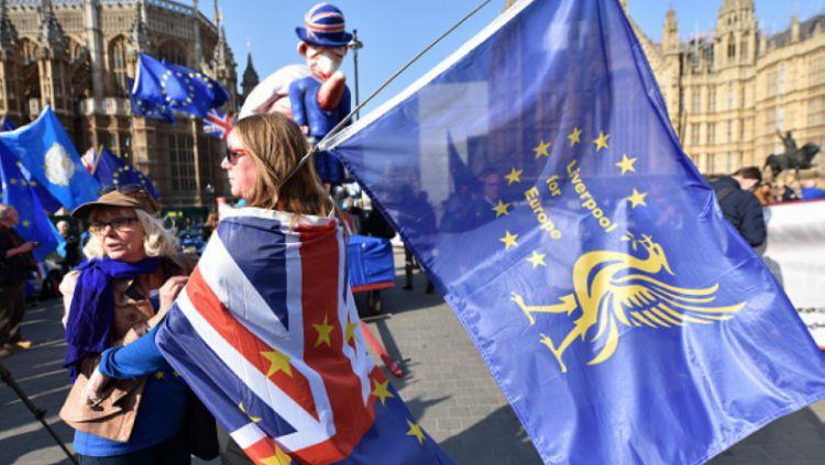 Masyarakat Kota Liverpool yang Menolak Brexit Copyright: © John Keeble / Contributor / Getty Images