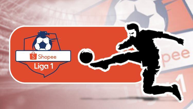 Sponsor Liga Indonesia (Liga 1). Copyright: © Eli Suhaeli/INDOSPORT