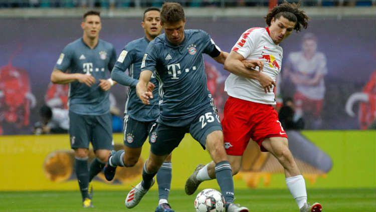 RB Leipzig vs Bayern Munchen. Copyright: © Getty Images/Odd Andersen