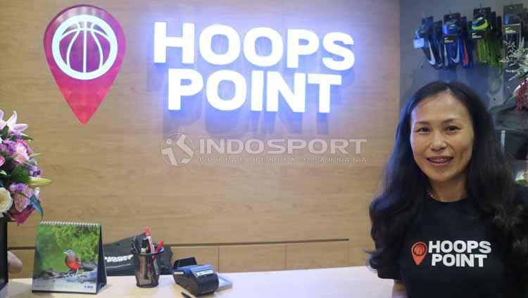 Joan Suryana, mantan atlet basket nasional sekaligus CEO Hoops Point. Foto: Shintya Anya Maharani Copyright: © Shintya Anya Maharani