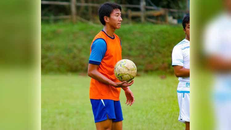 Seiya Da Costa Lay, wonderkid kelahiran Hiroshima, Jepang itu masuk ke dalam proyeksi tim Arema FC. Foto: MO Arema FC Copyright: © MO Arema FC