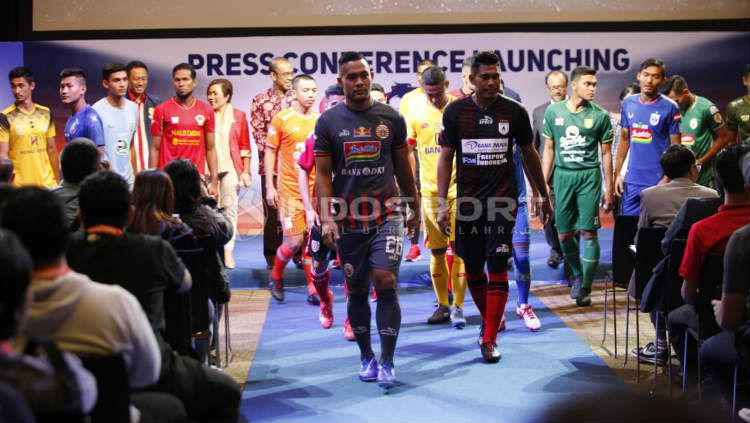 Launching Shopee Liga 1 2019. Foto: Herry Ibrahim/INDOSPORT Copyright: © Herry Ibrahim/INDOSPORT