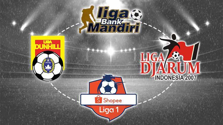 Seperempat Abad Era Profesional, Tahun Perak Sepak bola Indonesia. Grafis: Yanto/Indosport.com Copyright: © Grafis: Yanto/Indosport.com