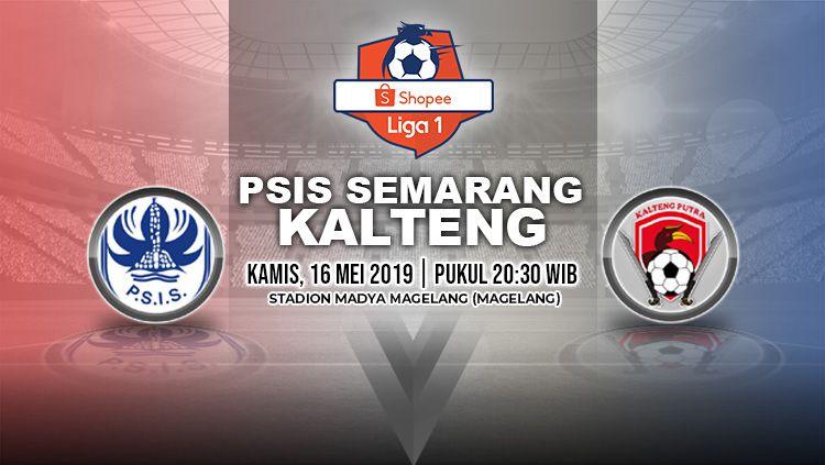 Pertandingan PSIS Semarang vs Kalteng Putra. Grafis: Yanto/Indosport.com Copyright: © Grafis: Yanto/Indosport.com