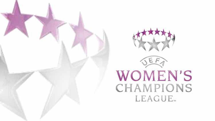 Logo Liga Champions Wanita. Grafis: Tim/Indosport.com Copyright: © Grafis: Tim/Indosport.com